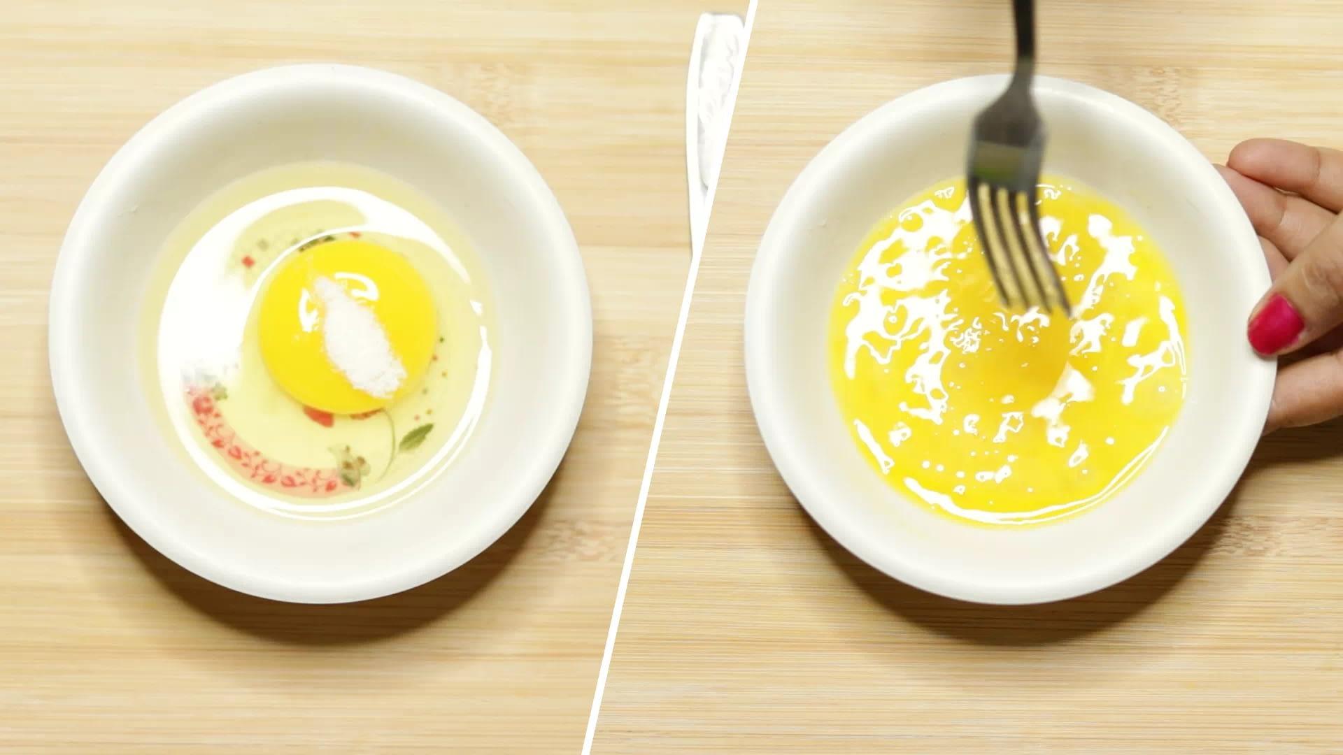 Make egg Batter